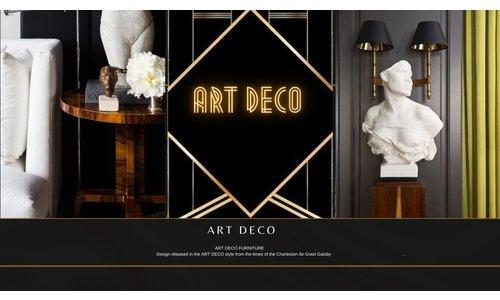 Art Deco Rosewood