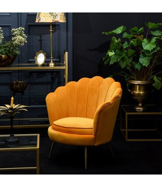Dutch & Style Chair Elaine Yellow