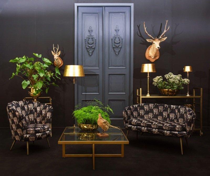 Dutch & Style Arielle chair - Leopard