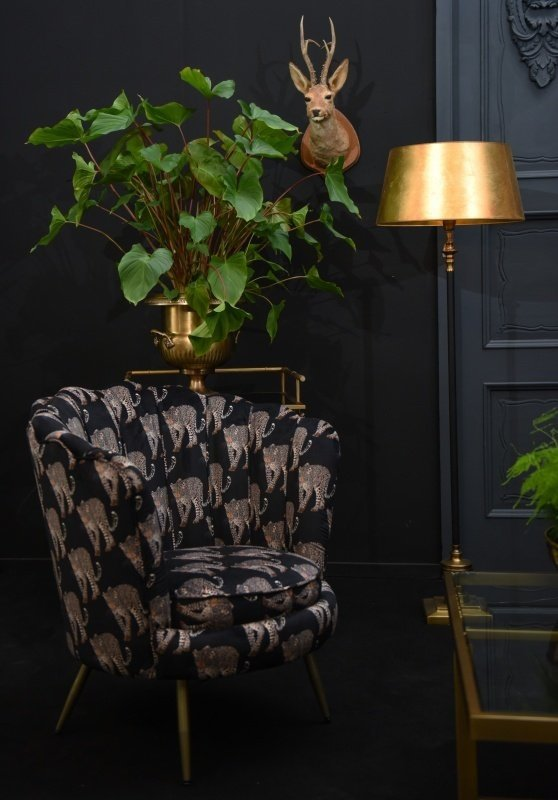 Dutch & Style Stoel Arielle - Leopard