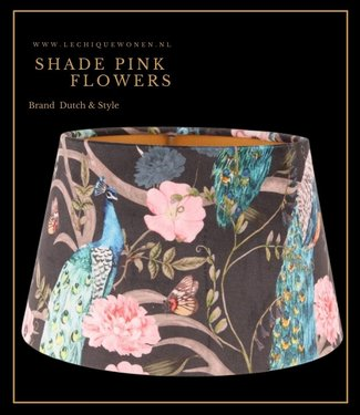 Dutch & Style Shade pink flowers  20 cm