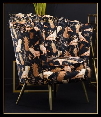 Dutch & Style Arielle chair Parrot