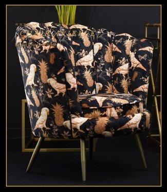 Dutch & Style Chaise Arielle Parrot