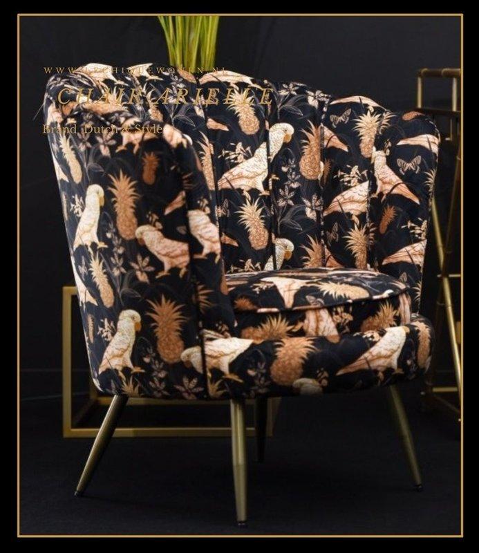 Dutch & Style Arielle chair Parrot