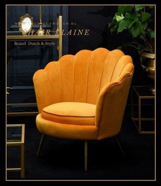 Dutch & Style Stoel Elaine Yellow