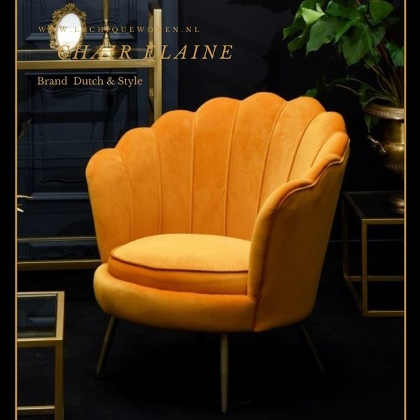 Dutch & Style Chaise Elaine -Yellow