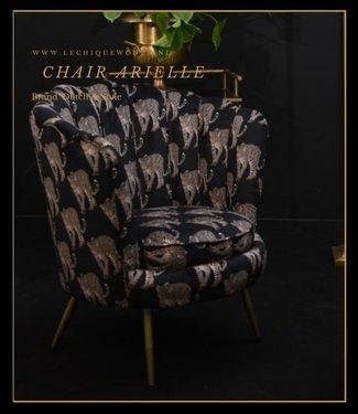Dutch & Style Stoel Arielle -Leopard