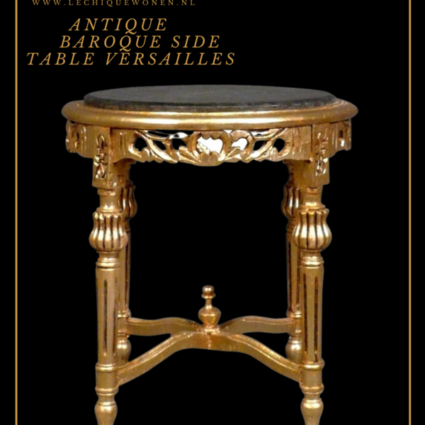 LC Baroque side table Marble