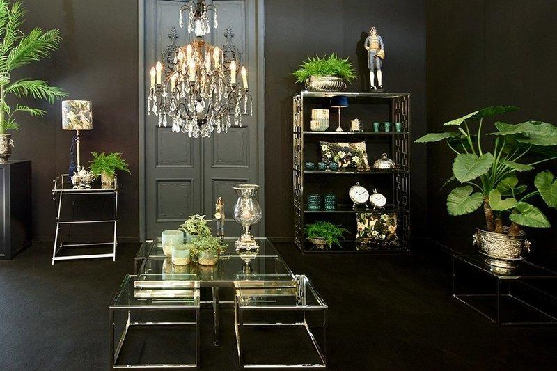 Dutch & Style Cabinet Panama silver