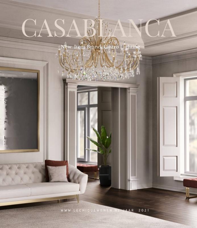 Castro Lighting   Chandelie Casablanca Suspension