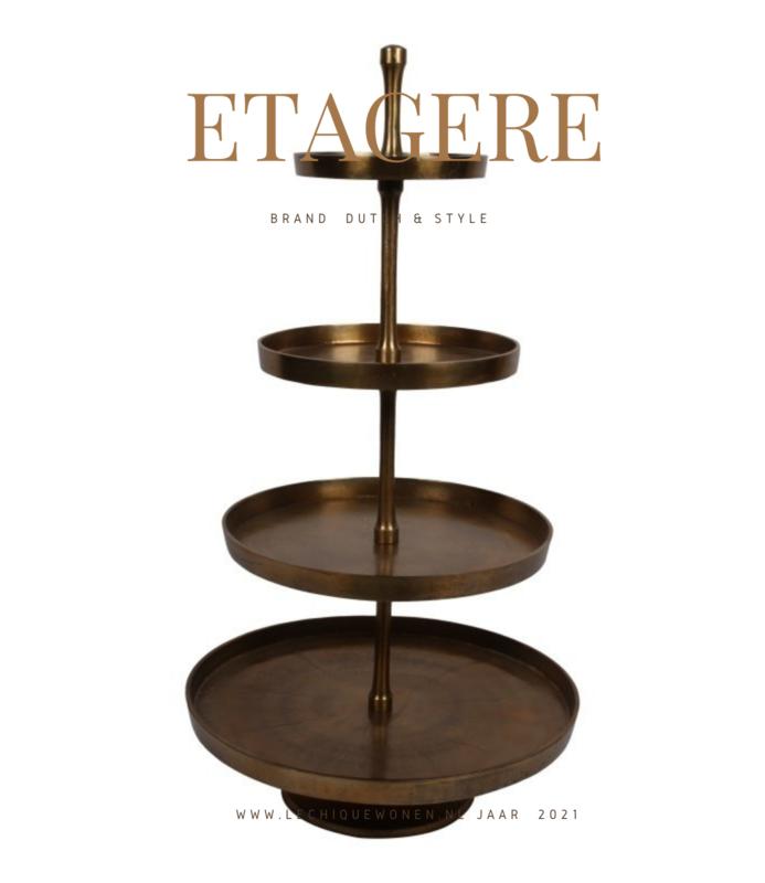 Dutch & Style Etagere XXL 130 cm 4 layer