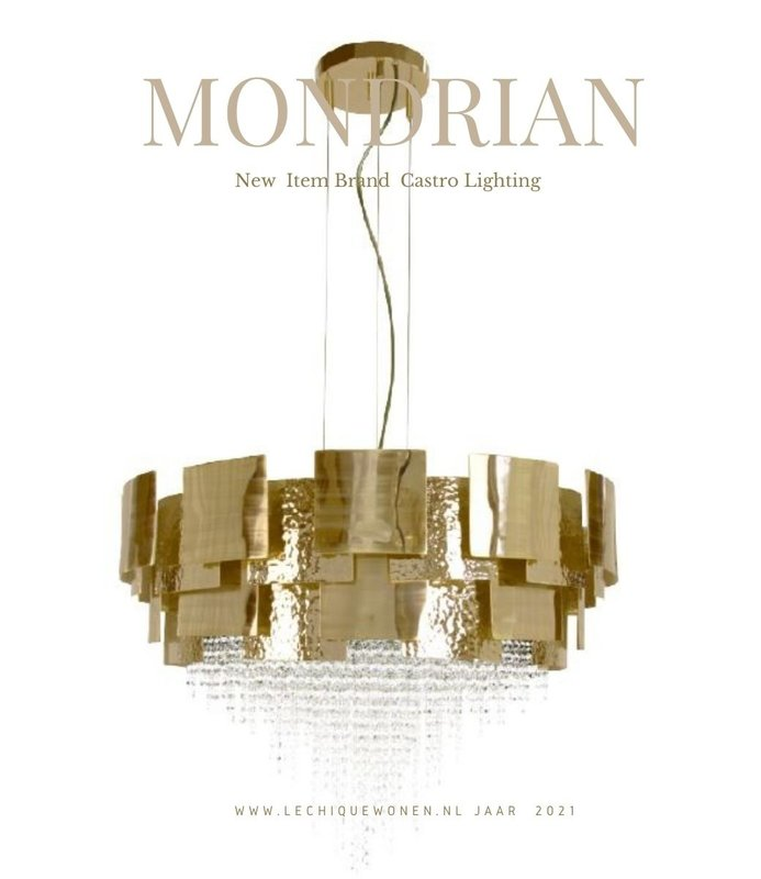 Castro Lighting  Mondrian Suspension Abstract