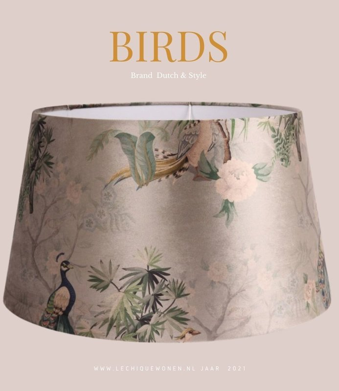 Dutch & Style Lampen kap Bird N/A