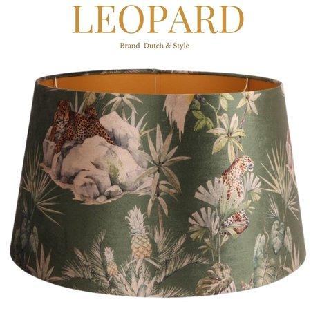 Dutch & Style Lampen kap Leopard   N/A