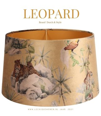 Dutch & Style Lampen kap Leopard   Gold  N/A