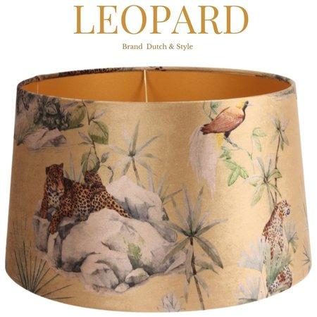 Dutch & Style Abat-jour Léopard  Gold  N/A