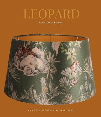 Dutch & Style Lampshade leopard  around 40 cm