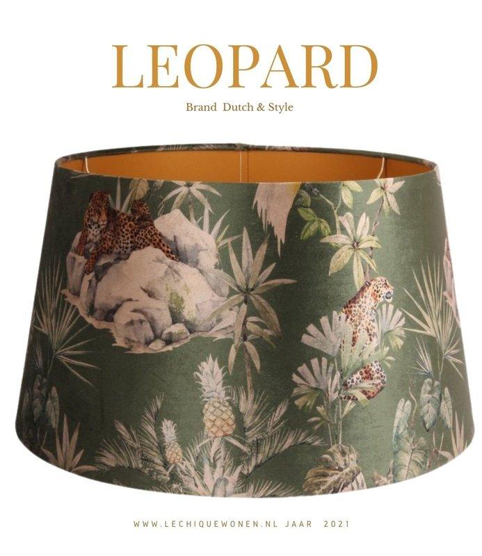 Dutch & Style Lampenkap leopard   rond 40 cm