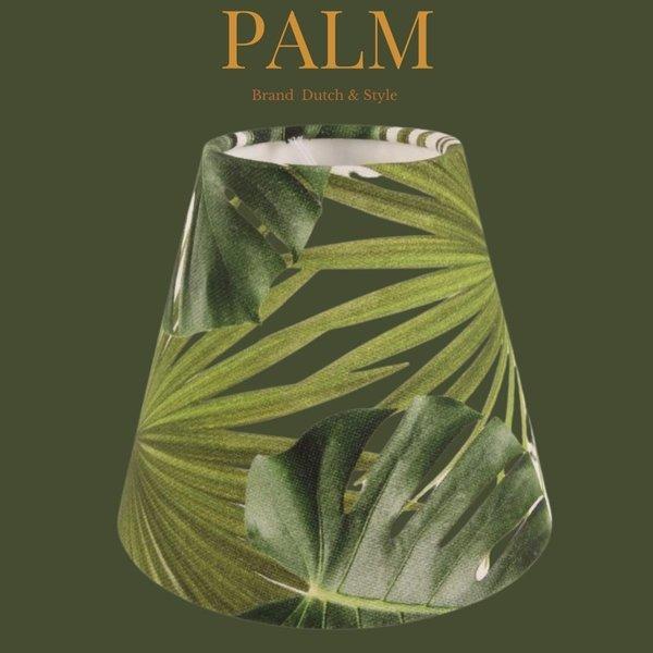 Dutch & Style Lampenkap jungle green   clip 13 cm
