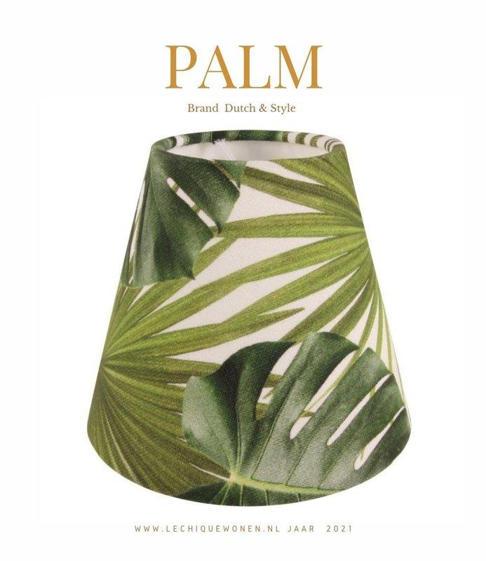 Dutch & Style Lampenkap clip jungle green 13 cm