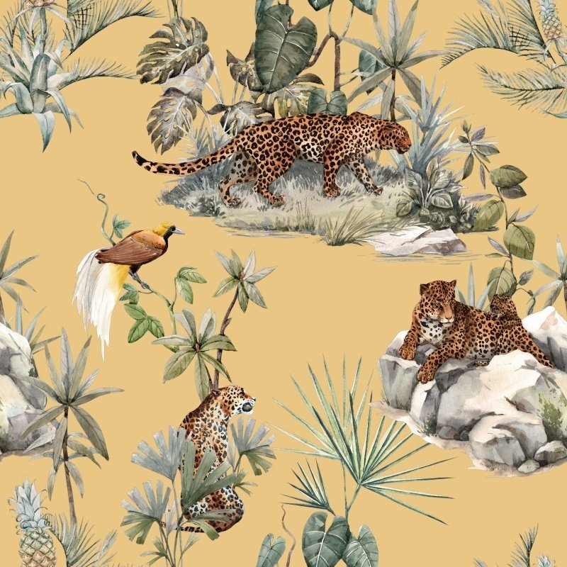 Dutch & Style Lampshade leopard 30 cm