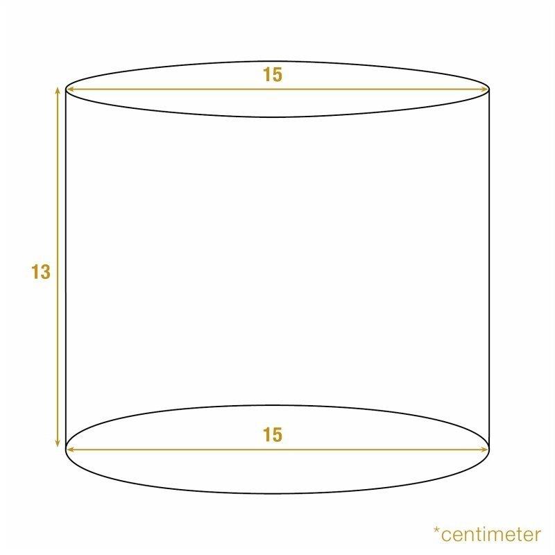 Dutch & Style Lampshade cylinder monkey 15 cm