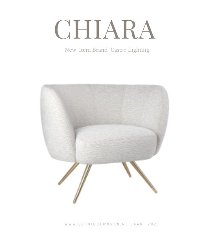 Castro Lighting  Chiara fauteuil