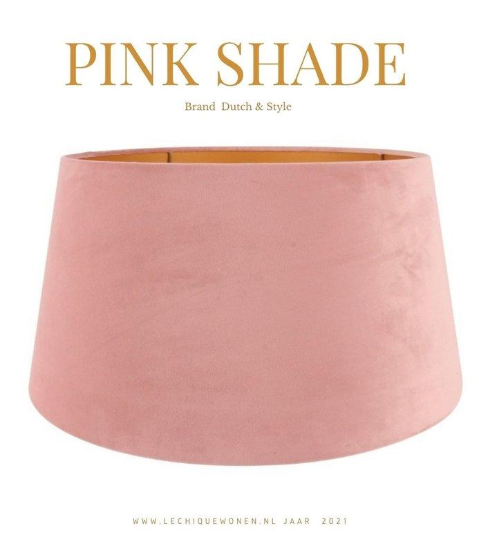 Dutch & Style Lampenkap rond  Roze