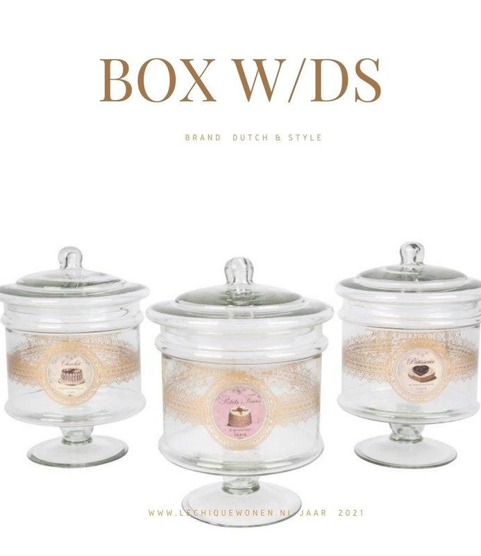 Dutch & Style Box W/lid ASS/3