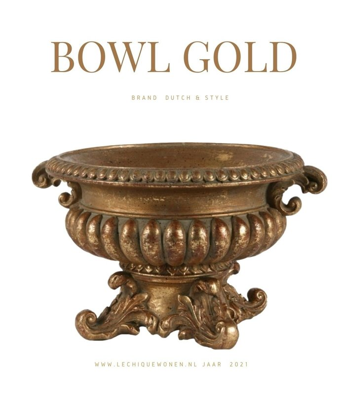 Dutch & Style Bowl with handle 25x22 cm