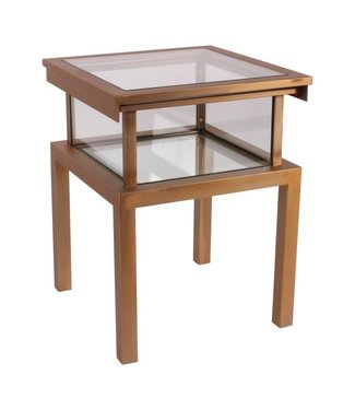 Dutch & Style Antigua square side table gold