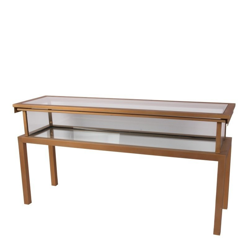 Dutch & Style Antig goldua console table