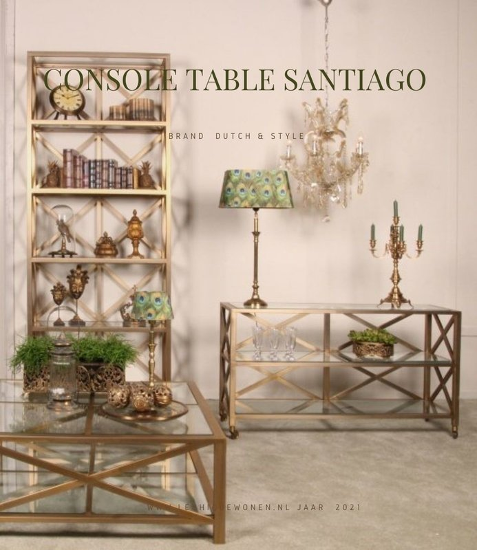 Dutch & Style Console table Santiago gold