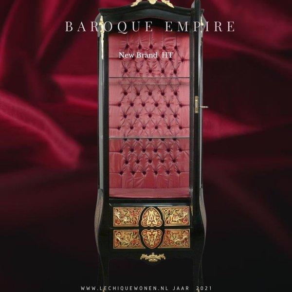 Baroque Showcase Cabinet Empire  1-door