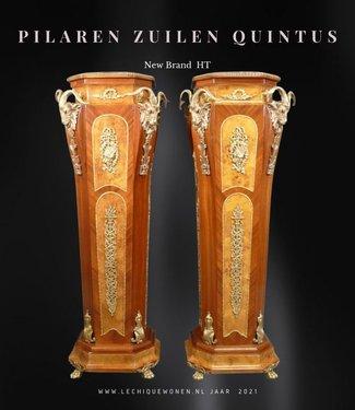 Royal Decoration   Colonnes piliers baroques en bronze Quintus
