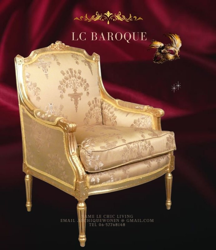 LC  Barok Bergère  Louis XVI