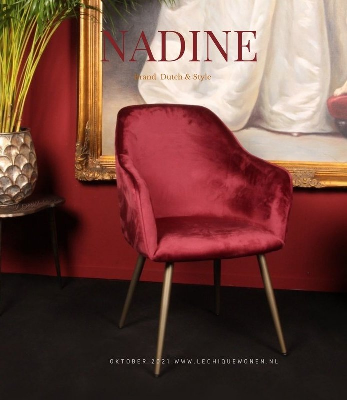 Dutch & Style Stoel Nadine