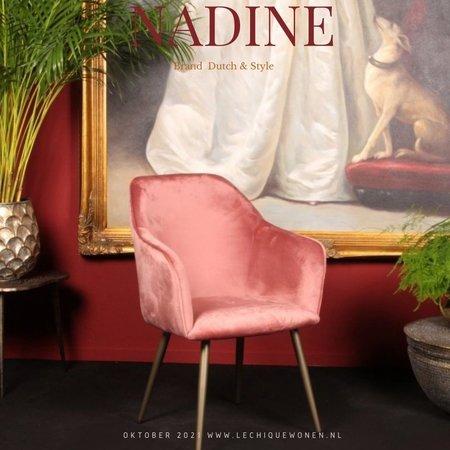 Dutch & Style Stoel Nadine  Rood