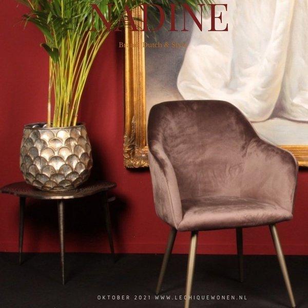 Dutch & Style Chair Nadine Gray