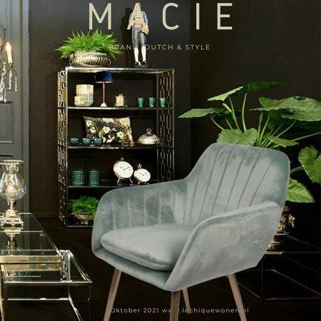 Dutch & Style Stoel Macie    Green