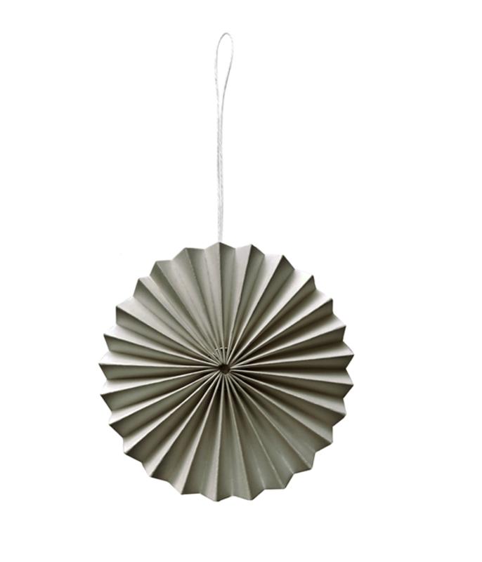 DELIGHT DEPARTMENT 10 pieces Paper ornaments Gray
