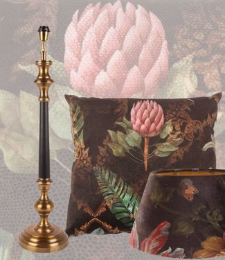 Dutch & Style Set Romantica Lampshade, lamp base and cushion