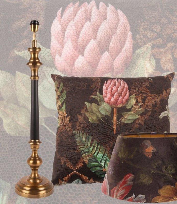 Dutch & Style Set Romantica Lampenkap lampvoet en kussen