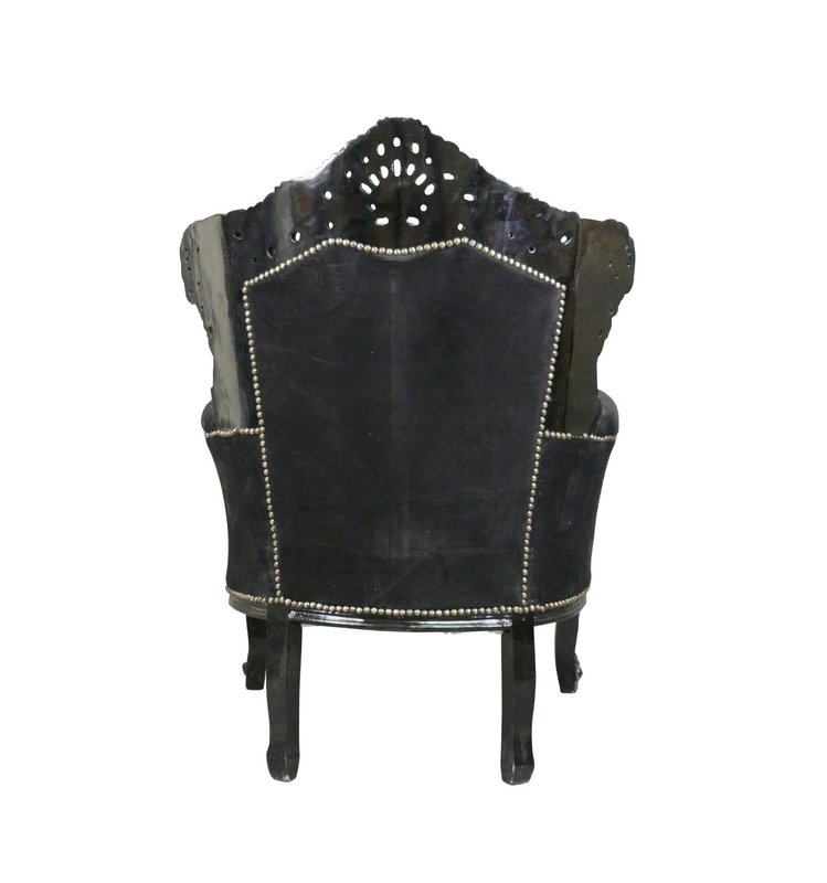 LC Barok fauteuil  velvet   exclusive