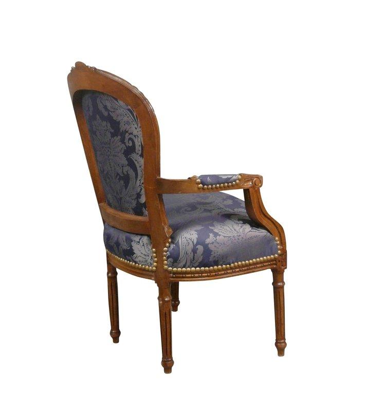 Royal Decoration   Baroque Empire chair Naples