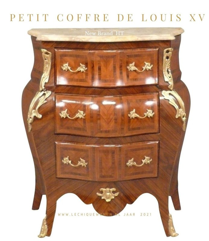 LC Louis XV drawer bedside table