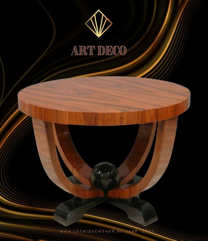 LC Coffee table art deco