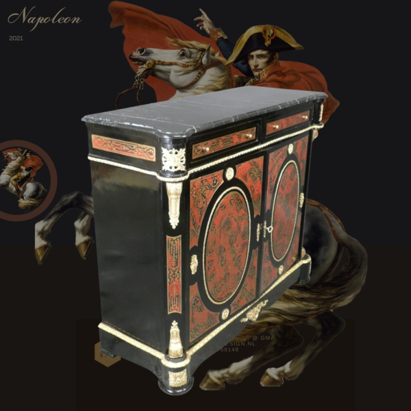 Commode  boulle