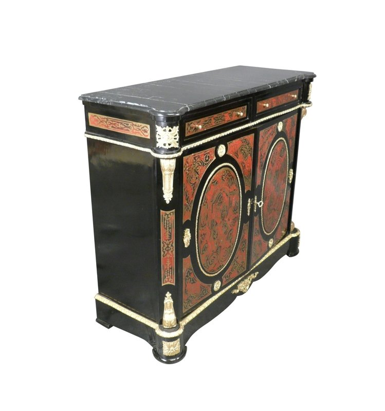 LC Napoleon  dresser in Boulle
