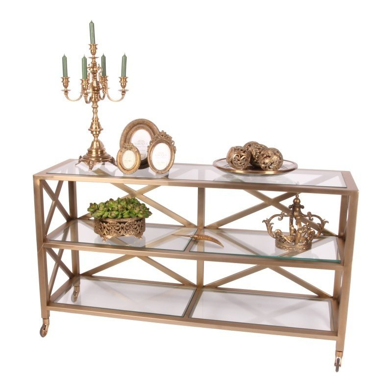 Dutch & Style Side table Santiago gold